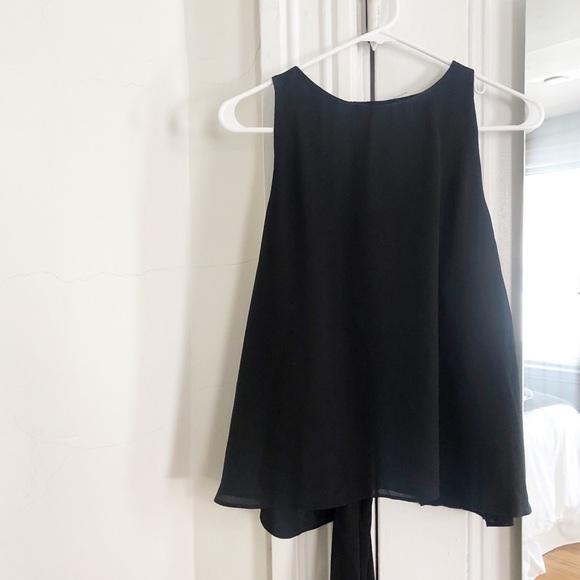 Zara Tops - Zara Tank Top Open Back